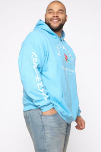 PlayStation International Hoodie - NeonBlue Angle 9