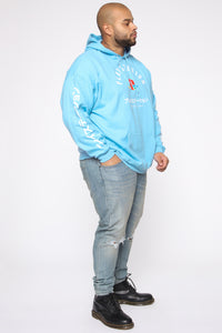 PlayStation International Hoodie - NeonBlue Angle 10