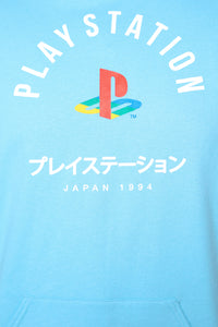 PlayStation International Hoodie - NeonBlue Angle 12