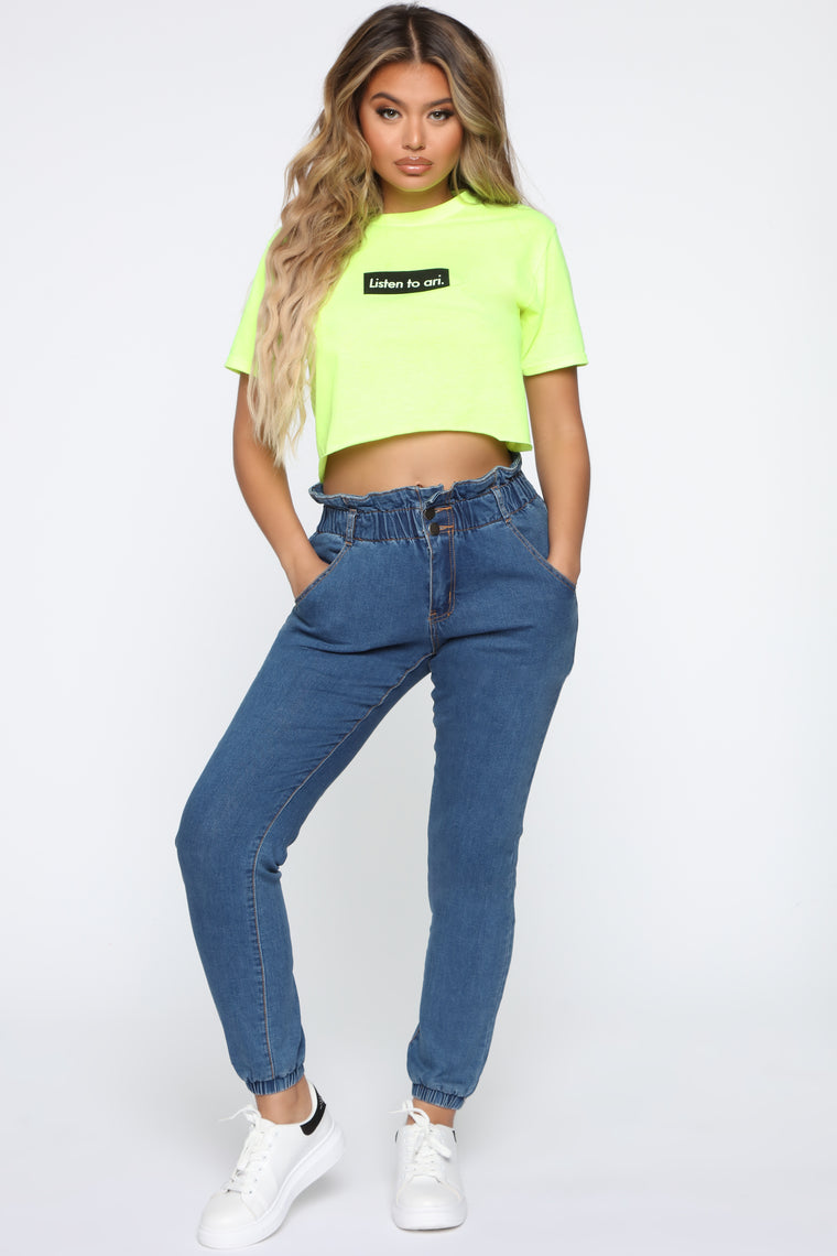 Throw It In The Bag Pants   Blue by Fashion Nova