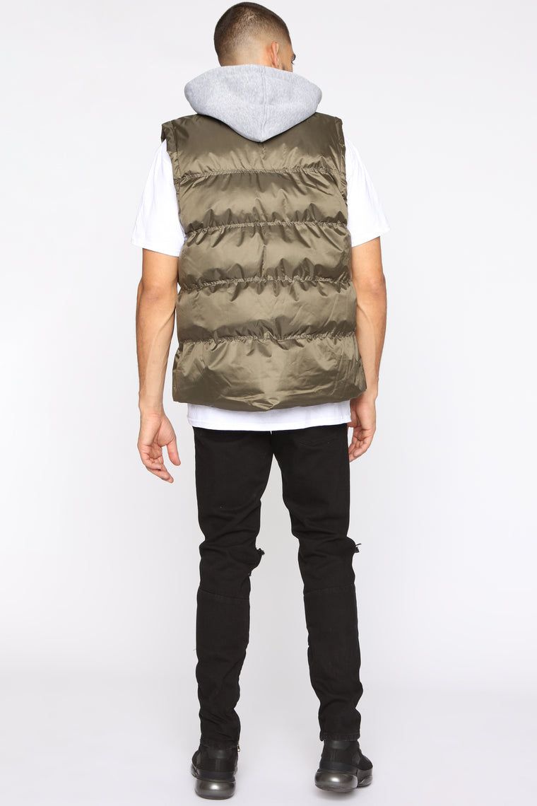 We Gonna Make It Vest - Olive