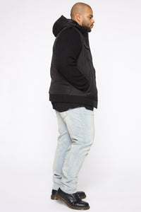 Wade Casual Jacket - Black/combo