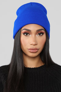 Keeping It Simple Beanie - Royal Angle 1