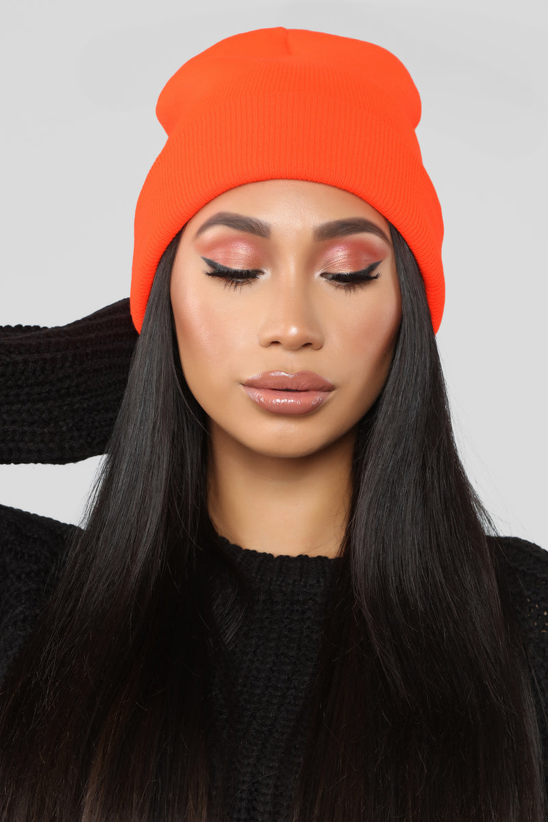 Keeping It Simple Beanie - Orange