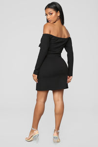 Beautiful Woman Dress - Black