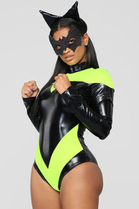 Bat Woman Costume - Black
