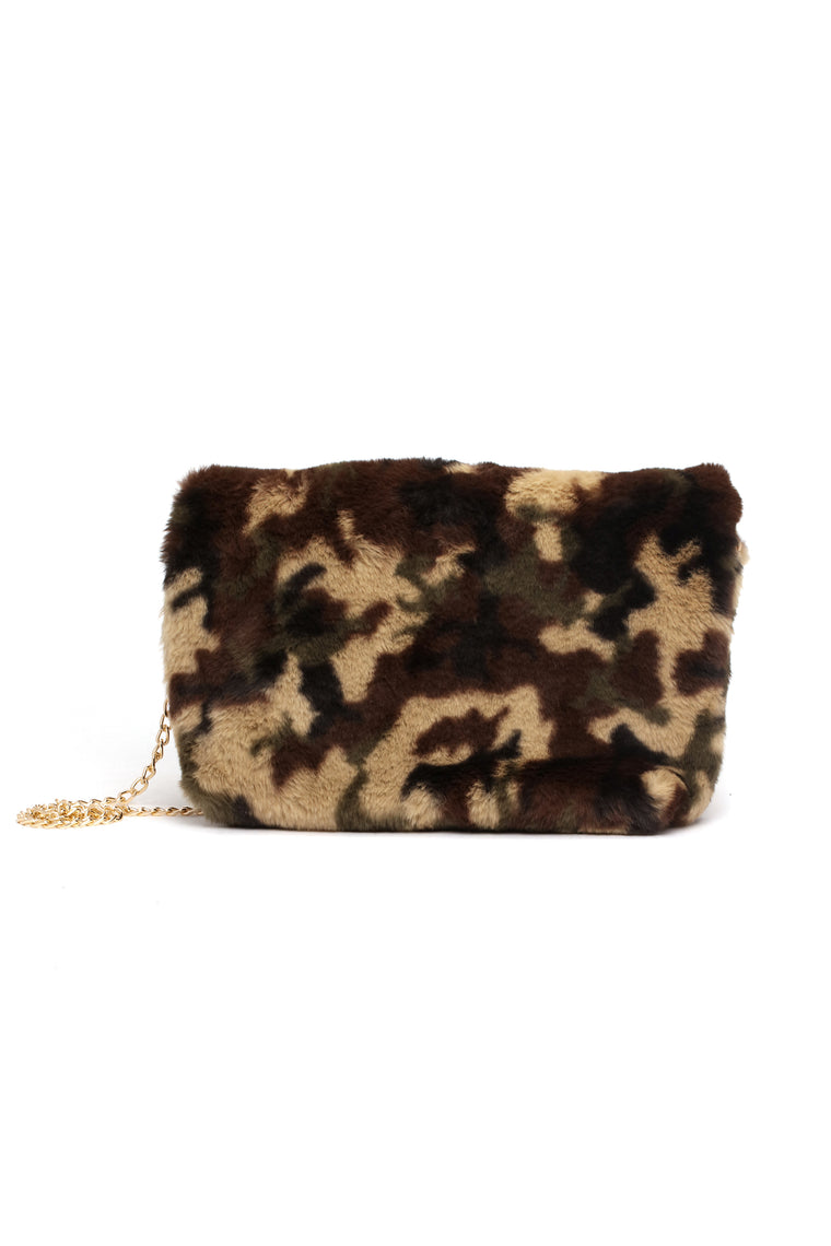 Roll With Homies Clutch - Camo