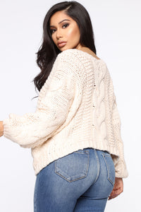The Right Kind Of Chunky Sweater - Ivory