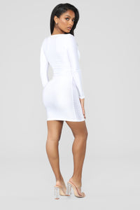 GNO Again Cutout Mini Dress - White