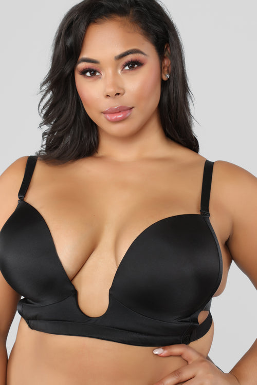 Loving My Curves Bra - Black