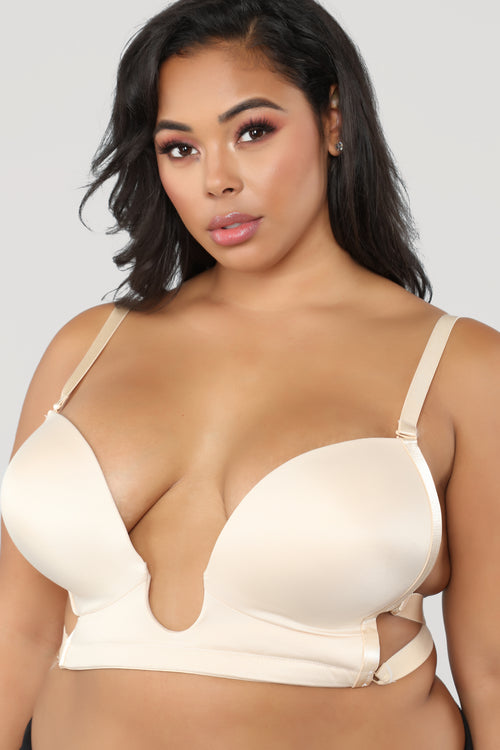 Loving My Curves Bra - Nude