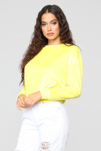 Jasymn Sweatshirt - Yellow