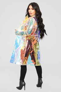 Reflective State Jacket - Iridescent