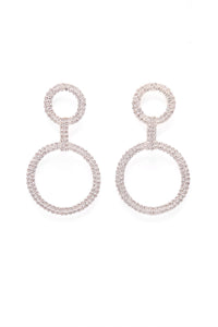 All Glamour Earrings - Silver