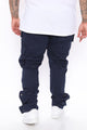 Worker Cargo Pants - Blue
