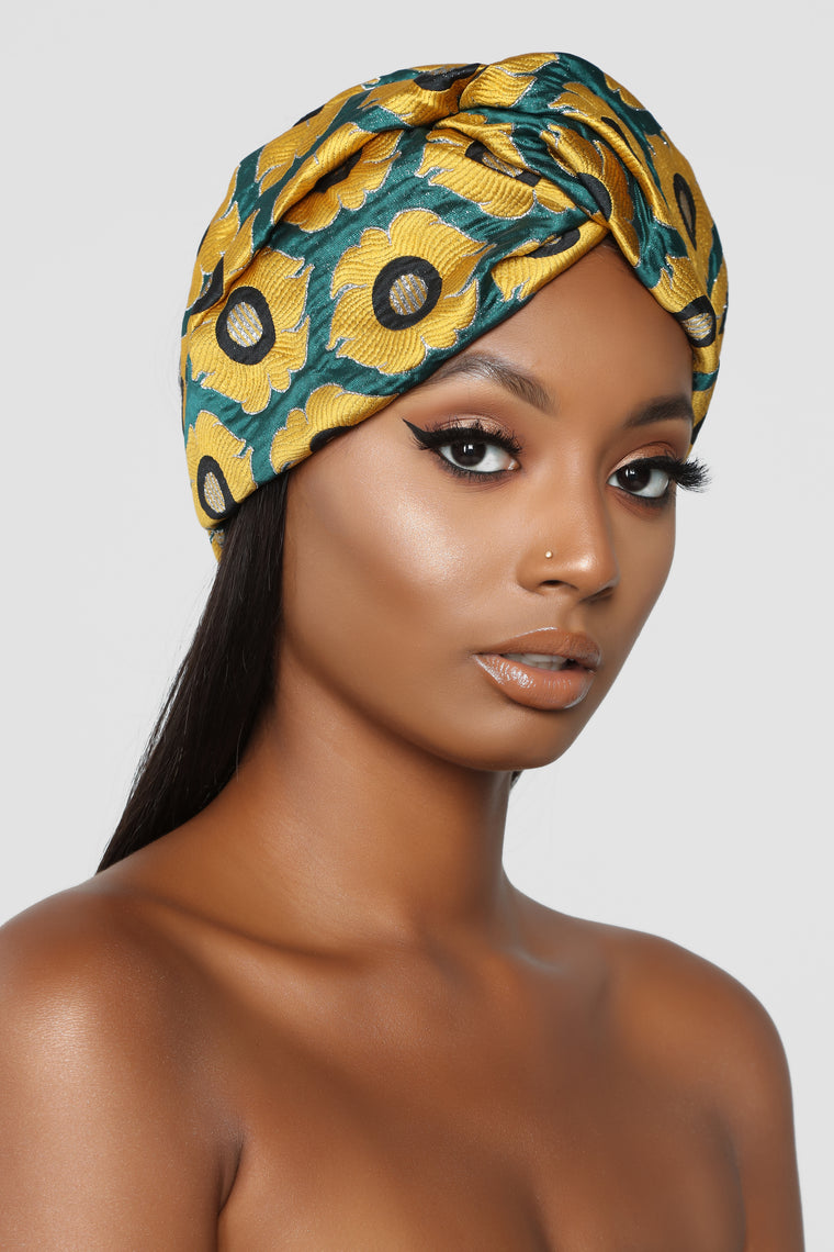 Hit The Road Jac Head Wrap - Mustard