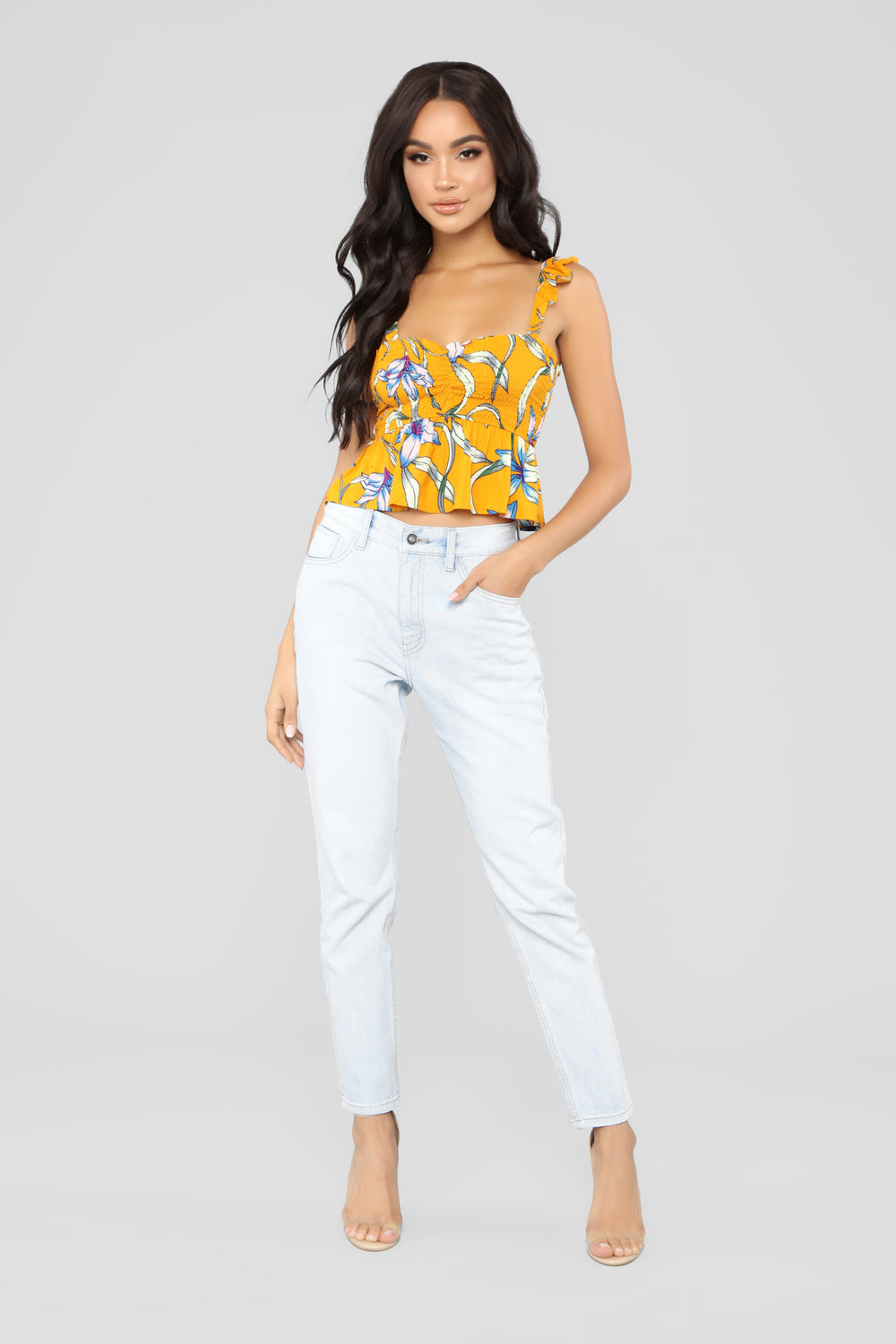 All The Right Places Boyfriend Jeans - Light Wash
