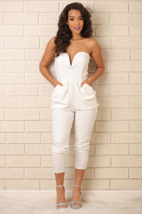 Orchid Jumpsuit - White