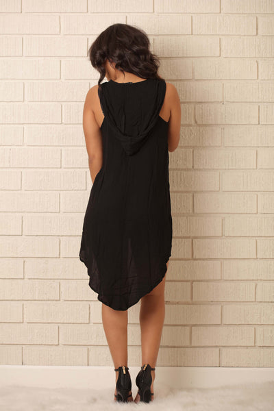 Night Rider Tunic - Black