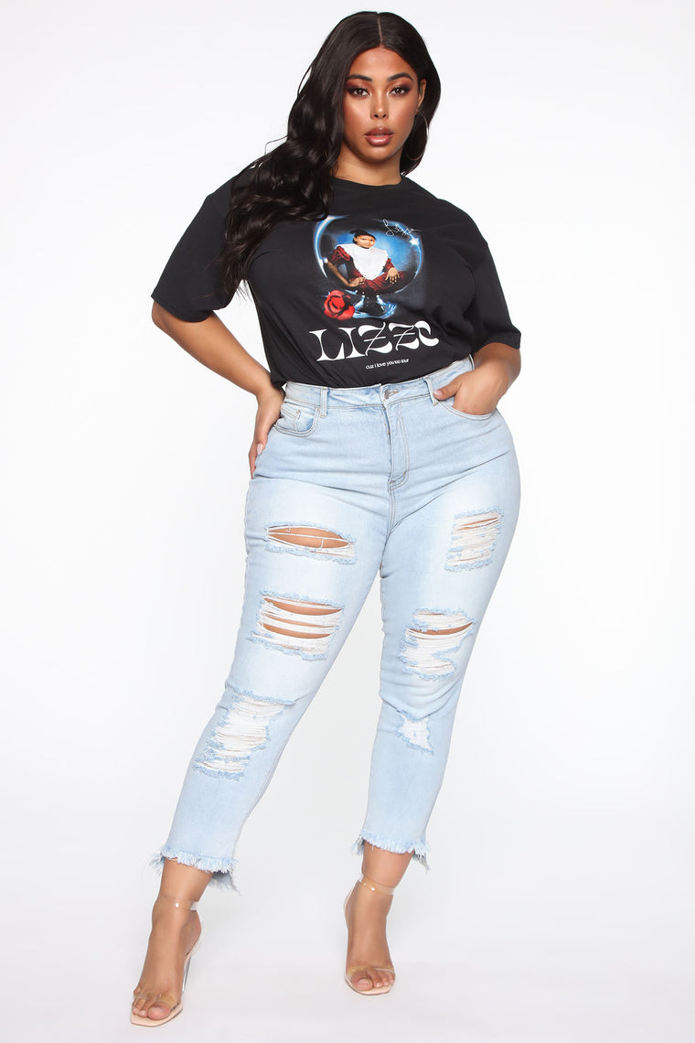 Lizzo On Tour Graphic Tee - Black