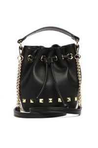 What's Up Stud Bucket Bag - Black