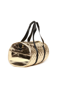 Away For The Weekend Bag - Gold