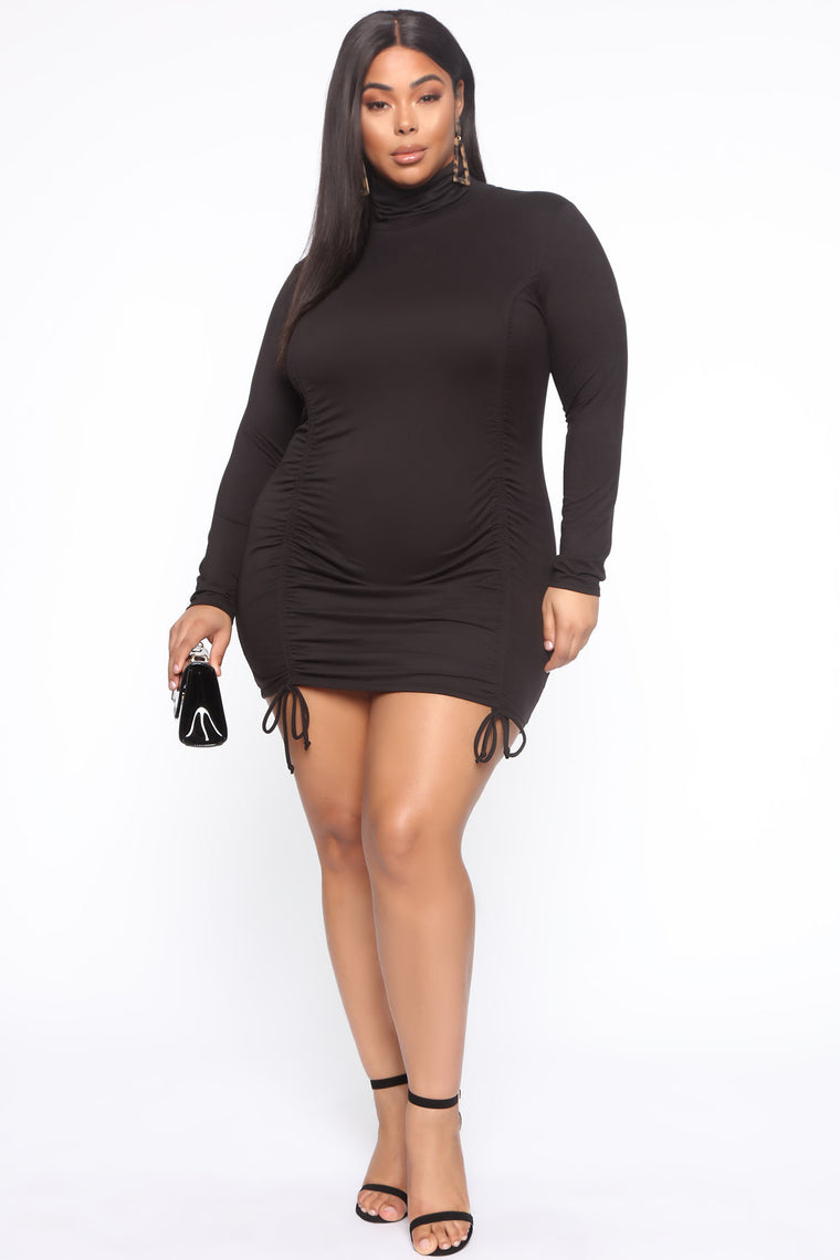 How I Like It Mini Dress - Black