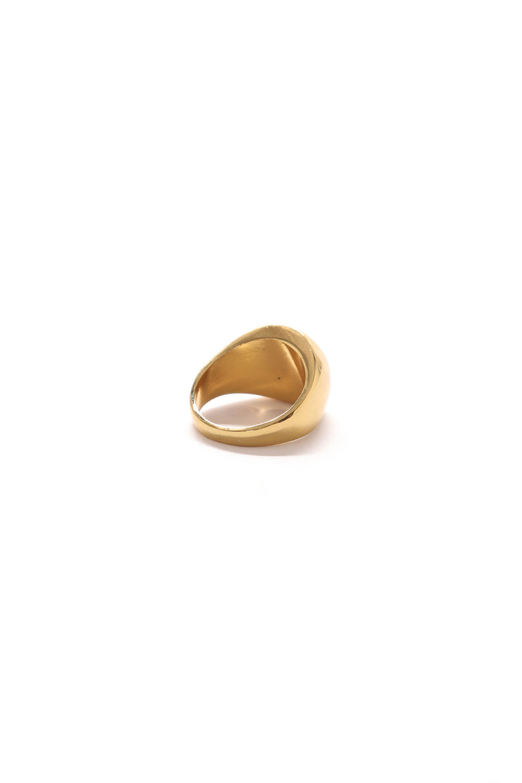 Snakes Statement Ring - Gold