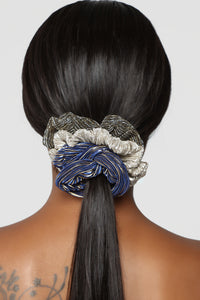 Rock Metal Scrunchie Set - Multi