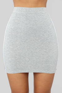 Melly Skirt - Grey