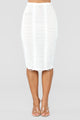Making The Cut Skirt - White