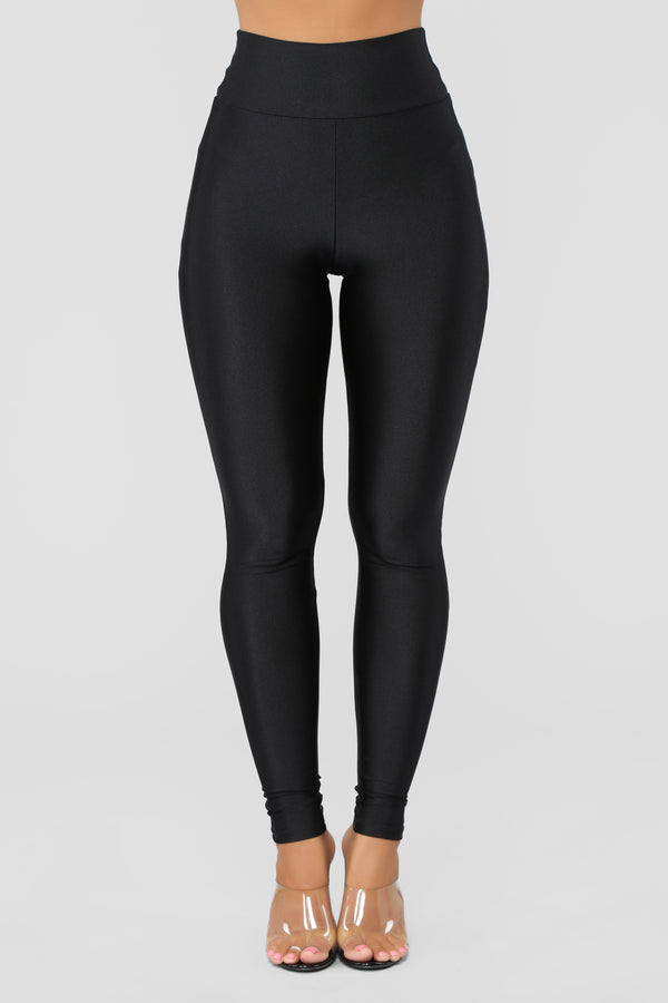 a696fb6ab6e2e Focus On Me Ruched Leggings - Black
