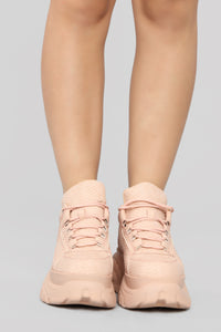 Lift Me Higher Sneaker - Blush