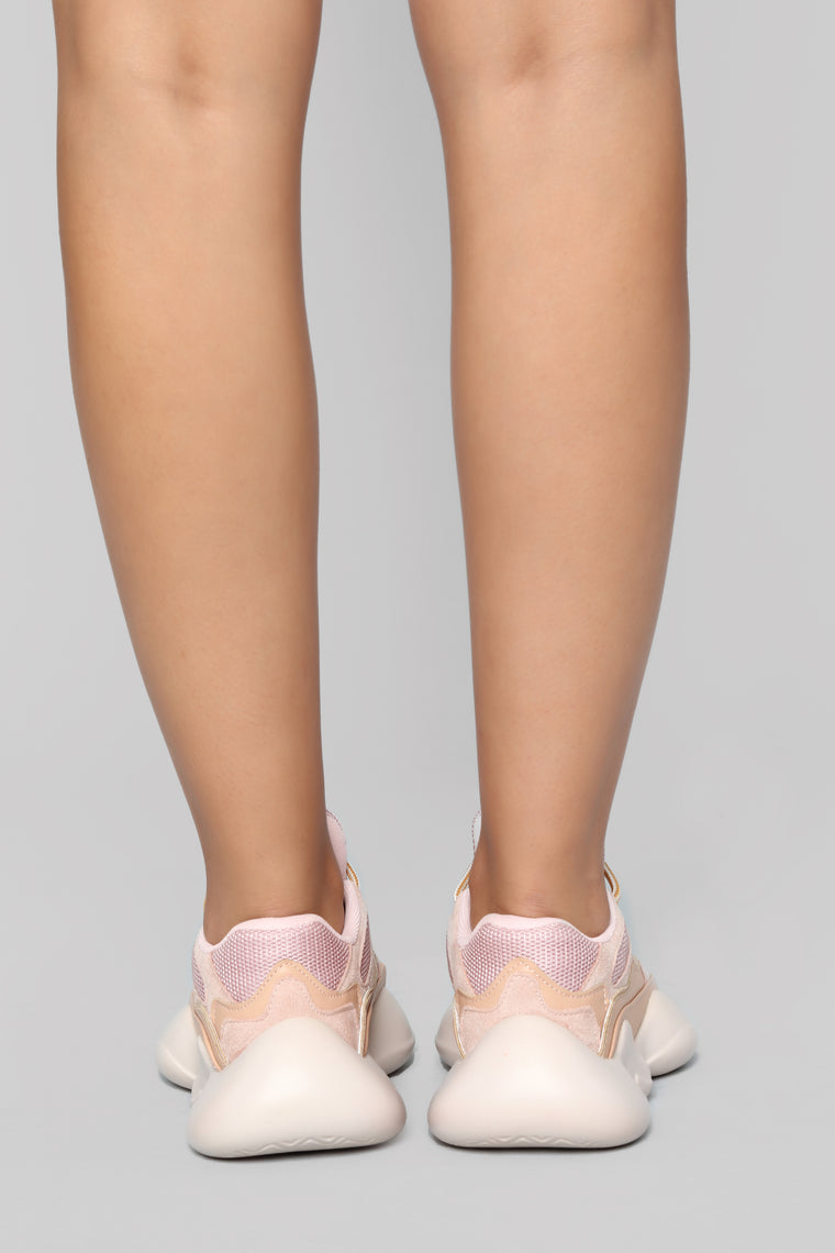 Boss Up Sneaker - Blush