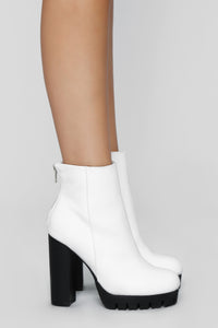 Do The Talking Bootie - White