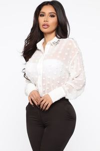 Keeping It Classy Shirt - White