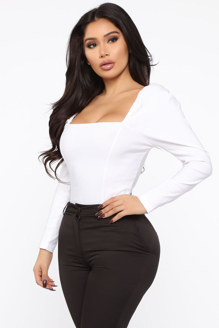 All The Rage Top - White