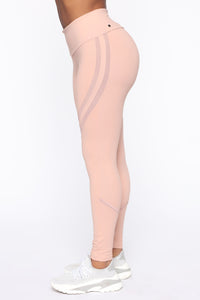 Sugar And Spice Active Legging - Nude