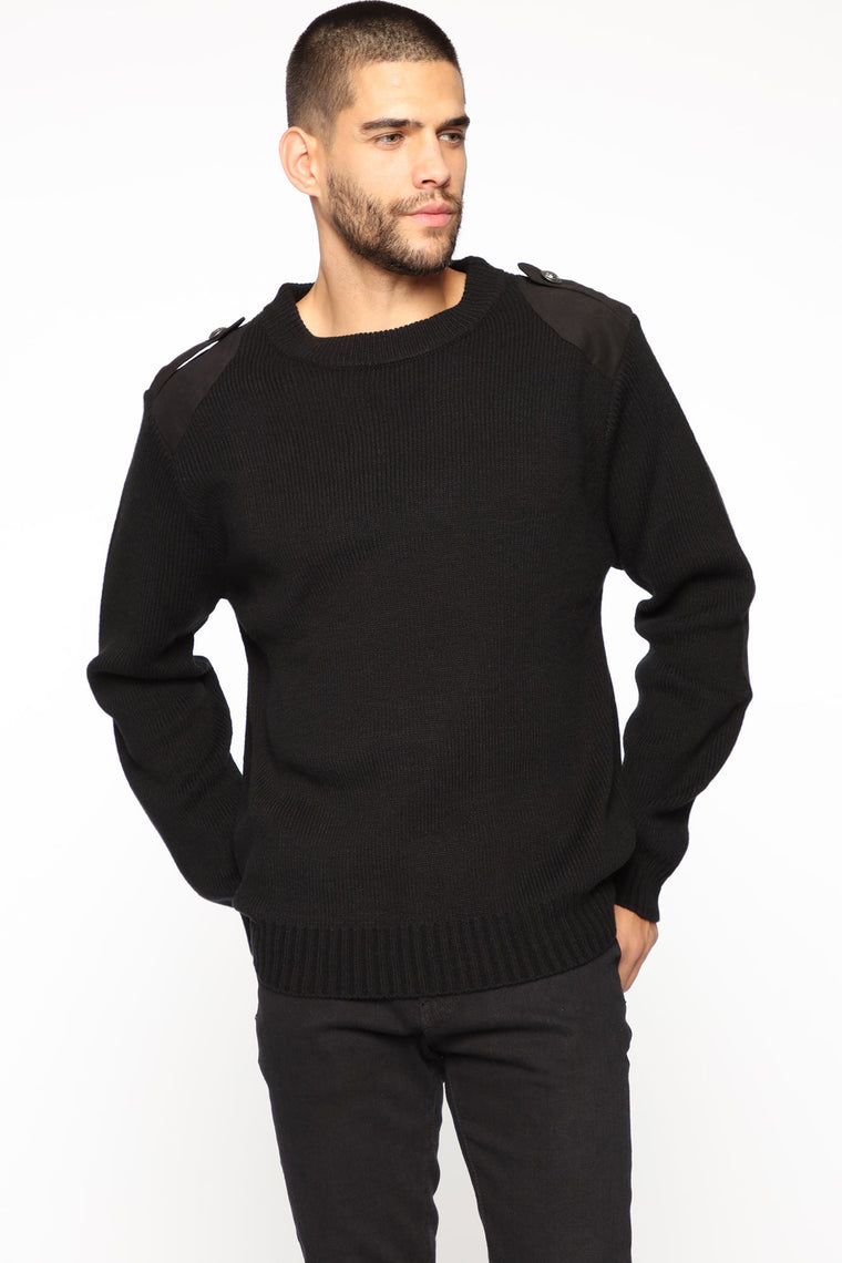 Tyrone Sweater - Black