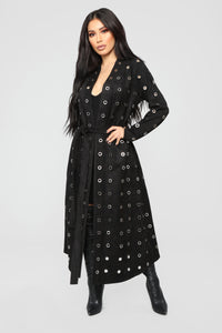 On The Edge Duster - Black