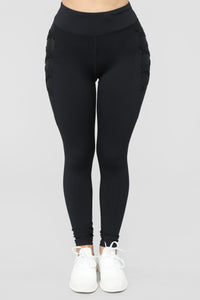 Model Behavior Active Legging - Black