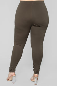 Almost Everyday Leggings - Olive
