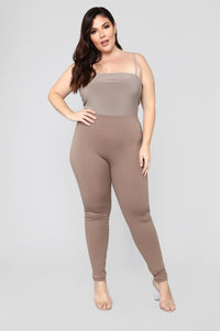 Almost Everyday Leggings - Mocha Angle 7