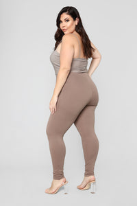 Almost Everyday Leggings - Mocha Angle 11