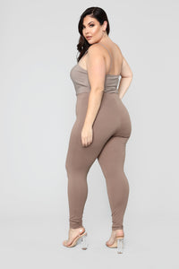Almost Everyday Leggings - Mocha Angle 9