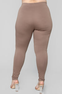 Almost Everyday Leggings - Mocha Angle 12