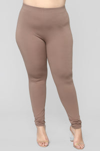 Almost Everyday Leggings - Mocha Angle 8