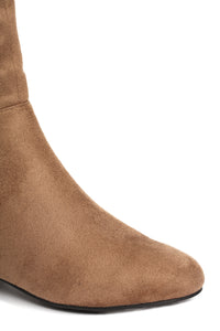 It's The Standard Flat Boot - Taupe