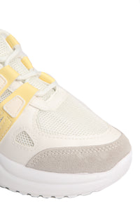 Better Now Than Never Sneaker - Yellow