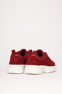 Down For This Sneaker - Burgundy